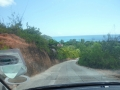 Scenic drive around Praslin