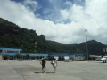 Arrival in Mahe