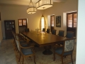 Dinning room of the Presidential Suite