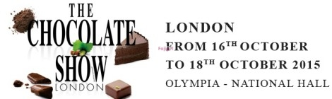 Win 2 tickets to the London chocolate show taking place 16th-18th October